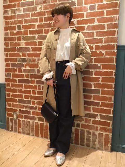 CPOロングジャケット ¥7,020 (税込)