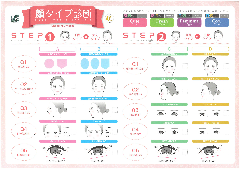 診断 写真 タイプ 顔